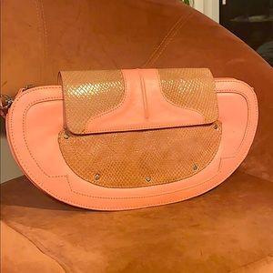 Vintage Y2K leather Unique Baguette Bag